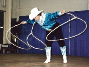 History of Trick Roping and Wild West Shows