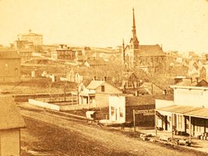 Founding of Omaha: 1854-1860