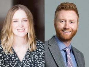 Sarah Baker Hansen and Matt Hansen