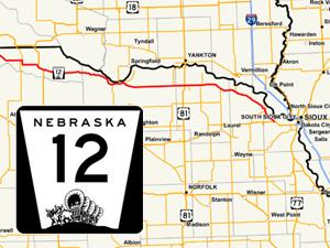 Nebraska's Outlaw Trail, Highway 12