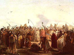 Lewis and Clark Meet the Sioux