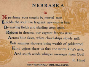 Conversation Through Time: An Introduction to Poetry of Nebraska